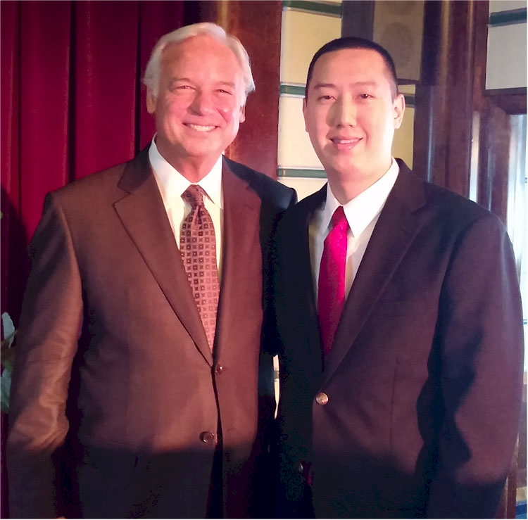 Dr. David Che with Jack Canfield